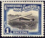 Mozambique Company 1935 Inauguration of the Airmail (2nd Issue) k