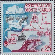 Monaco 1960 29th Monte Carlo Automobile Rally a