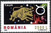 Romania 2002 The Signs of the Zodiac b