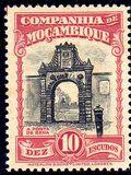 Mozambique company 1937 Assorted designs r