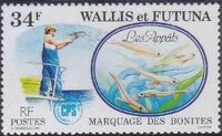 Wallis and Futuna 1979 Tuna tagging by South Pacific Commission c