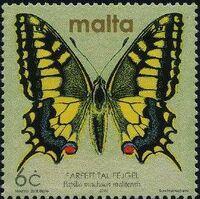 Malta 2002 Butterflies and Moths o