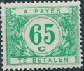 Belgium 1949 Postage Due Stamps (Digit on White Background) a.jpg