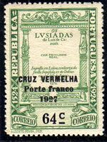 Portugal 1927 Red Cross - 400th Birth Anniversary of Camões c