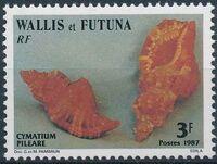 Wallis and Futuna 1987 Sea Shells a