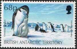 British Antarctic Territory 1992 WWF Seals and Penguins f