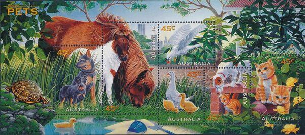 Australia 1996 Pets h