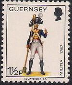 Guernsey 1974 Military Uniforms Definitive Issue c