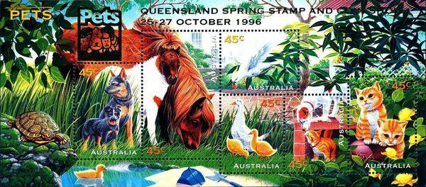 Australia 1996 Pets l