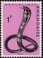 Rwanda 1967 Snakes d