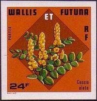 Wallis and Futuna 1978 Flowers f