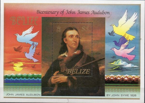 Belize 1985 Audubon Birth Bicentenary h