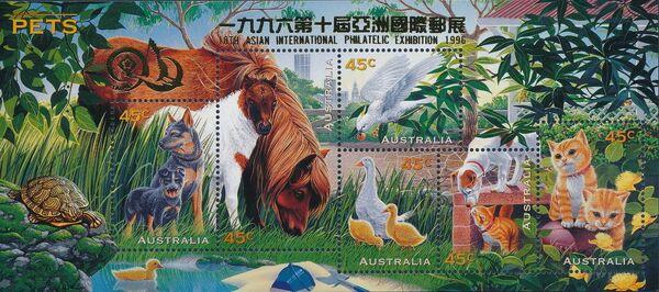 Australia 1996 Pets j