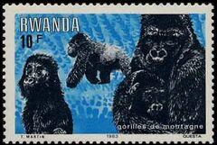 Rwanda 1983 Mountain Gorilla d