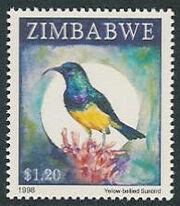 Zimbabwe 1998 Birds a