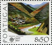 Portugal 1977 Europa b