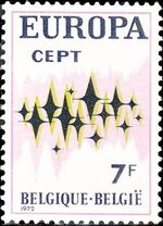 Belgium 1972 Europa-CEPT b