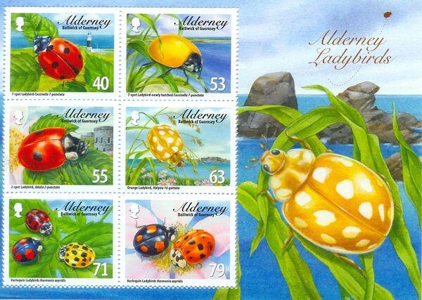 Alderney 2014 Alderney Ladybirds e