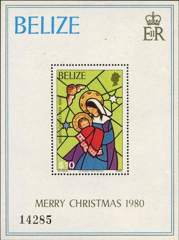 Belize 1980 Christmas l