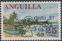 Anguilla 1969 Christmas c