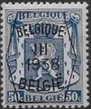 Belgium 1938 Coat of Arms - Precancel (3rd Group) f.jpg