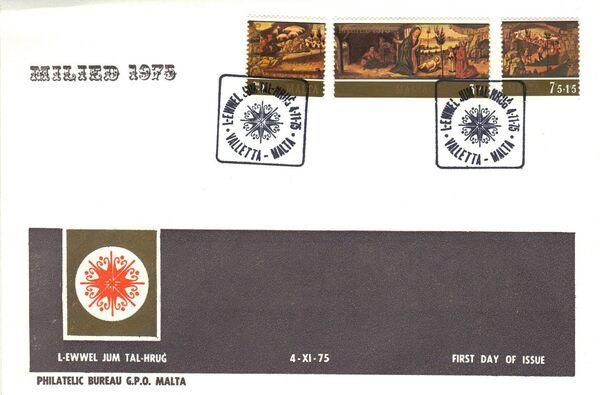 Malta 1975 Christmas h