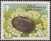Alderney 2013 Alderney Beetles f