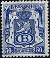 Belgium 1946 Coat of Arms - Official Stamps c.jpg