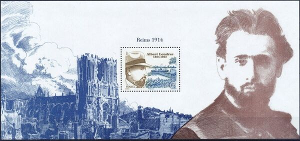 France 2007 75th Anniversary of the Death of Albert Londres, 1884-1932 c