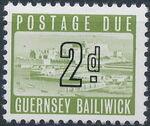 Guernsey 1969 Castle Cornet and St. Peter Port b