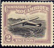 Mozambique Company 1935 Inauguration of the Airmail (2nd Issue) l