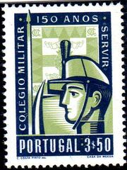 Portugal 1954 150th Anniversary of Military College b
