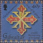 Gibraltar 2003 1700th Anniversary of St. George b
