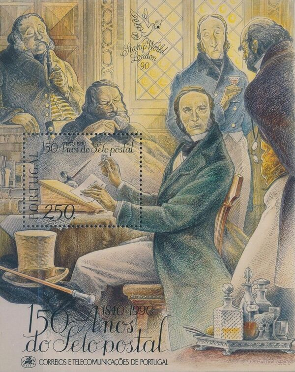 Portugal 1990 150th Anniversary of the Stamp c