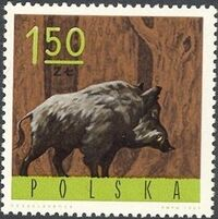 Poland 1965 Forest Animals f