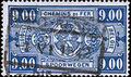 Belgium 1941 Railway Stamps (Numeral in Rectangle IV) s.jpg