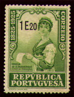 Portugal 1925 Birth Centenary of Camilo Castelo Branco v