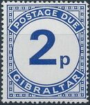 Gibraltar 1971 Postage Due Stamps c