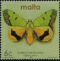 Malta 2002 Butterflies and Moths c