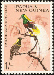 Papua New Guinea 1964 Birds d