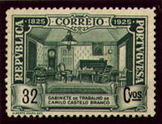 Portugal 1925 Birth Centenary of Camilo Castelo Branco m