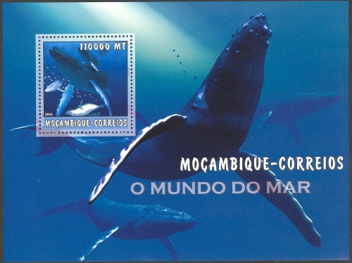 Mozambique 2002 The World of the Sea - Whales 2 i