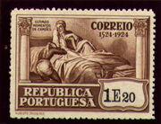 Portugal 1924 400th Birth Anniversary of Camões v