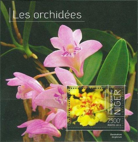 Niger 2013 Les Orchidées e