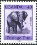 Uganda 1985 Wildlife (Postage Due Stamps) d