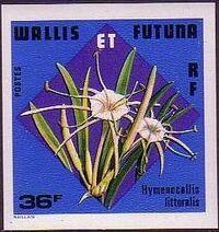 Wallis and Futuna 1978 Flowers h