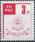 Gibraltar 1984 Postage Due Stamps b
