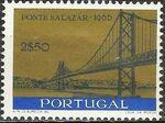 Portugal 1966 Inauguration of Salazar Bridge b