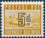 Guernsey 1969 Castle Cornet and St. Peter Port e