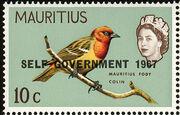 Mauritius 1967 Self-Government Overprints e